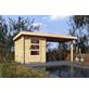 WOODFEELING Gartenhaus, BxT: 474 x 237 cm, Pultdach-Thumbnail
