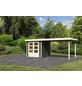 WOODFEELING Gartenhaus, BxT: 504.5 x 238 cm (Aufstellmaße), Flachdach-Thumbnail
