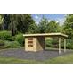 WOODFEELING Gartenhaus, BxT: 509 x 256 cm (Aufstellmaße), Pultdach-Thumbnail