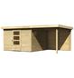 WOODFEELING Gartenhaus, BxT: 522 x 306 cm (Außenmaße), Dachplatte-Thumbnail