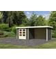 WOODFEELING Gartenhaus, BxT: 528.5 x 238 cm (Aufstellmaße), Flachdach-Thumbnail