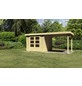 WOODFEELING Gartenhaus, BxT: 528.5 x 262 cm (Aufstellmaße), Flachdach-Thumbnail