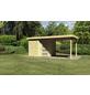 WOODFEELING Gartenhaus, BxT: 530 x 262 cm (Aufstellmaße), Flachdach-Thumbnail