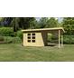 WOODFEELING Gartenhaus, BxT: 552 x 303 cm (Aufstellmaße), Pultdach-Thumbnail