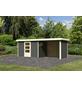 WOODFEELING Gartenhaus, BxT: 557 x 217 cm (Außenmaße), Dachplatte-Thumbnail