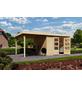 WOODFEELING Gartenhaus, BxT: 558 x 331 cm (Aufstellmaße), Flachdach-Thumbnail