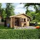 WOODFEELING Gartenhaus, BxT: 584 x 390 cm (Aufstellmaße), Satteldach-Thumbnail