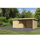 WOODFEELING Gartenhaus, BxT: 585 x 273 cm (Aufstellmaße), Flachdach-Thumbnail