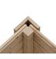 WOODFEELING Gartenhaus, BxT: 612 x 303 cm (Aufstellmaße), Flachdach-Thumbnail