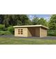 WOODFEELING Gartenhaus, BxT: 724 x 420 cm (Aufstellmaße), Pultdach-Thumbnail