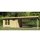 WOODFEELING Gartenhaus, BxT: 804.5 x 333 cm (Aufstellmaße), Pultdach-Thumbnail
