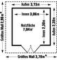 GROSFILLEX Gartenhaus »Deco 7,5«, B x T x H: 315 x 239 x 250 cm-Thumbnail
