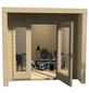 WEKA Gartenhaus »Design Gartenhaus 263 Gr.1«, BxT: 245 x 250 cm, Flachdach-Thumbnail