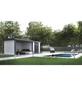 WOLFF FINNHAUS Gartenhaus »Eleganto 2724«, Außenmaße B x T: 552  x 238  cm-Thumbnail