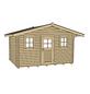 WEKA Gartenhaus »Gartenhaus 110 Gr.2«, BxT: 460 x 450 cm, Satteldach-Thumbnail