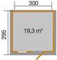 WEKA Gartenhaus »Gartenhaus 123 Gr.5«, BxT: 390 x 325 cm (Aufstellmaße), Satteldach-Thumbnail