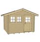 WEKA Gartenhaus »Gartenhaus 139 Gr.1«, BxT: 380 x 280 cm, Satteldach-Thumbnail
