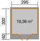 WEKA Gartenhaus »Gartenhaus 179 Gr.4«, BxT: 356 x 375 cm, Flachdach-Thumbnail