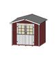 WEKA Gartenhaus »Gartenhaus 218 Gr.1«, BxT: 260 x 235 cm (Aufstellmaße), Satteldach-Thumbnail