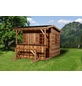 WEKA Gartenhaus »Gartenhaus 820 A Gr.2«, BxT: 340 x 400 cm, Satteldach-Thumbnail