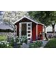 SKANHOLZ Gartenhaus »Hengelo«, BxT: 280 x 355 cm (Aufstellmaße), Spitzdach-Thumbnail
