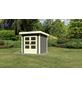 WOODFEELING Gartenhaus »Kandern«, BxT: 200 x 200 cm (Aufstellmaße), Pultdach-Thumbnail