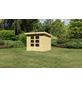 WOODFEELING Gartenhaus »Kandern«, BxT: 240 x 240 cm (Aufstellmaße), Pultdach-Thumbnail