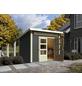 WOODFEELING Gartenhaus »Kandern«, BxT: 270 x 270 cm (Aufstellmaße), Pultdach-Thumbnail
