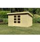 WOODFEELING Gartenhaus »Kandern«, BxT: 360 x 300 cm (Aufstellmaße), Pultdach-Thumbnail