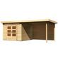 WOODFEELING Gartenhaus »Kandern«, BxT: 612 x 303 cm (Aufstellmaße), Pultdach-Thumbnail