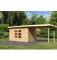 WOODFEELING Gartenhaus »Kandern«, BxT: 632 x 332 cm (Aufstellmaße), Pultdach-Thumbnail