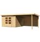 WOODFEELING Gartenhaus »Kandern«, BxT: 644 x 332 cm (Aufstellmaße), Pultdach-Thumbnail