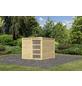 KARIBU Gartenhaus »Karby 1«, BxT: 246 x 246 cm, Flachdach-Thumbnail