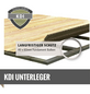 WOODFEELING Gartenhaus »Kerko 3«, B x T: 528 x 238 cm, Flachdach-Thumbnail