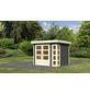 WOODFEELING Gartenhaus »Kerko 3«, BxT: 266 x 238 cm (Aufstellmaße), Flachdach-Thumbnail