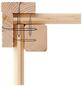 WOODFEELING Gartenhaus »Kerko 3«, BxT: 491 x 238 cm (Aufstellmaße), Flachdach-Thumbnail