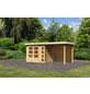 WOODFEELING Gartenhaus »Kerko 3«, BxT: 508 x 238 cm (Aufstellmaße), Flachdach-Thumbnail