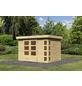 WOODFEELING Gartenhaus »Kerko 4«, BxT: 330 x 238 cm (Aufstellmaße), Flachdach-Thumbnail