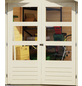 WOODFEELING Gartenhaus »Kerko 4«, BxT: 572 x 238 cm (Aufstellmaße), Flachdach-Thumbnail