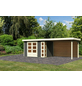 WOODFEELING Gartenhaus »Kerko 4«, BxT: 609 x 238 cm (Aufstellmaße), Flachdach-Thumbnail