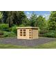 WOODFEELING Gartenhaus »Kerko 5«, BxT: 329 x 262 cm (Aufstellmaße), Flachdach-Thumbnail