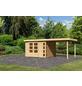 WOODFEELING Gartenhaus »Kerko 5«, BxT: 591.5 x 262 cm (Aufstellmaße), Flachdach-Thumbnail