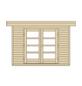WEKA Gartenhaus »Komfort Designhaus 126 Plus Gr.1«, BxT: 356 x 284 cm, Flachdach-Thumbnail