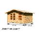 WOODFEELING Gartenhaus »Lagor 1«, BxT: 468 x 390 cm (Aufstellmaße), Satteldach-Thumbnail