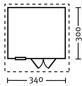 SKANHOLZ Gartenhaus »Langesund 2«, B x T: 380 x 400 cm-Thumbnail