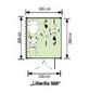LUOMAN Gartenhaus »Lillevilla«, B x T: 245 x 298 cm, Flachdach, inkl. Fußboden-Thumbnail