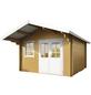 WOLFF FINNHAUS Gartenhaus »Lisa«, BxT: 420 x 440 cm, Satteldach-Thumbnail