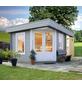 WOLFF FINNHAUS Gartenhaus »Maja«, BxT: 503 x 349 cm, Flachdach-Thumbnail
