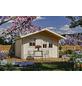 SKANHOLZ Gartenhaus »Malaga«, BxT: 380 x 400 cm (Aufstellmaße), Spitzdach-Thumbnail