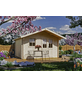 SKANHOLZ Gartenhaus »Malaga«, BxT: 380 x 440 cm (Aufstellmaße), Spitzdach-Thumbnail